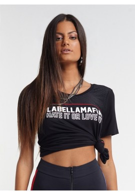 T-Shirt New York Black MBL16419  - Labellamafia