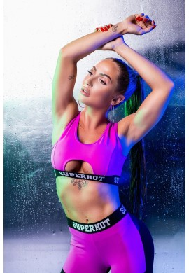 Top Athletic Cut Pink TOP2061 - Superhot