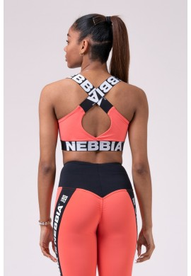Power Your Hero iconic sports bra 535 - NEBBIA