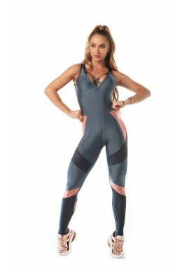 Jumpsuit Airy Shine (M946) - Let'sGym