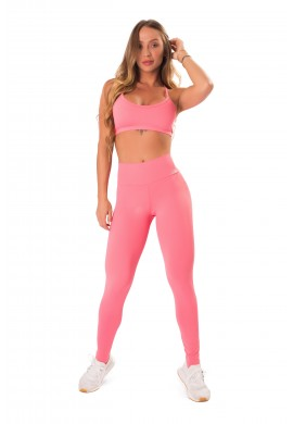 Conjunto Pure Up Soft Coral (T1271+L1270) - Let'sGym