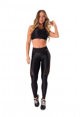 Conjunto Atletika Air Black (T1231+L1232) - Let'sGym